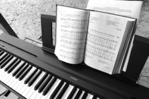 Keyboard mit 88 Tasten