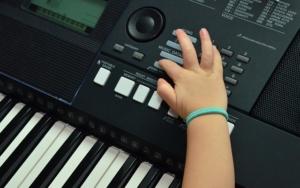Ausstattung bei einem Keyboard