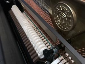 Der Aufbau bei einem Klavier