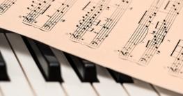 Wo findet man Klaviernoten?