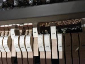 Klaviertasten, Hämmer & Pedale